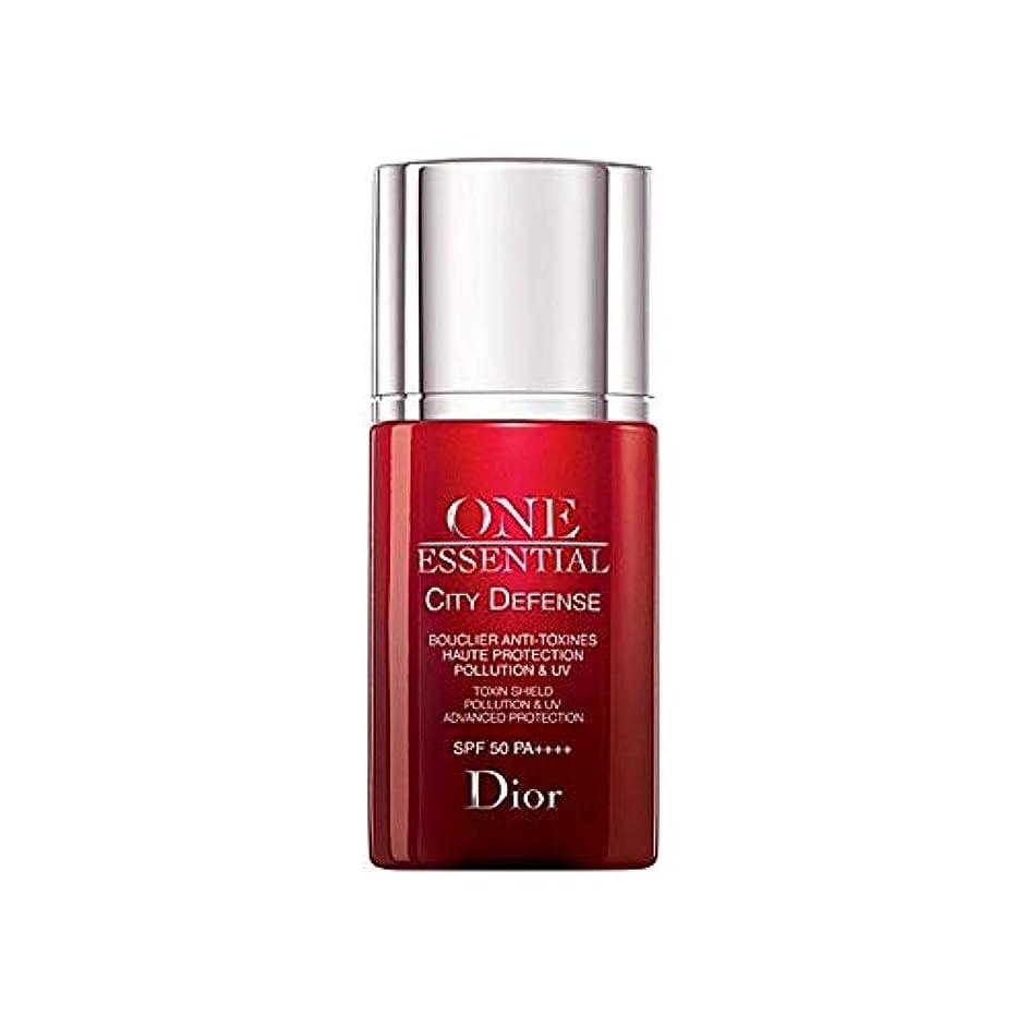 流すパキスタン人いとこ[Dior] ディオール1つの基本的な都市の防衛30ミリリットル - Dior One Essential City Defence 30ml [並行輸入品]