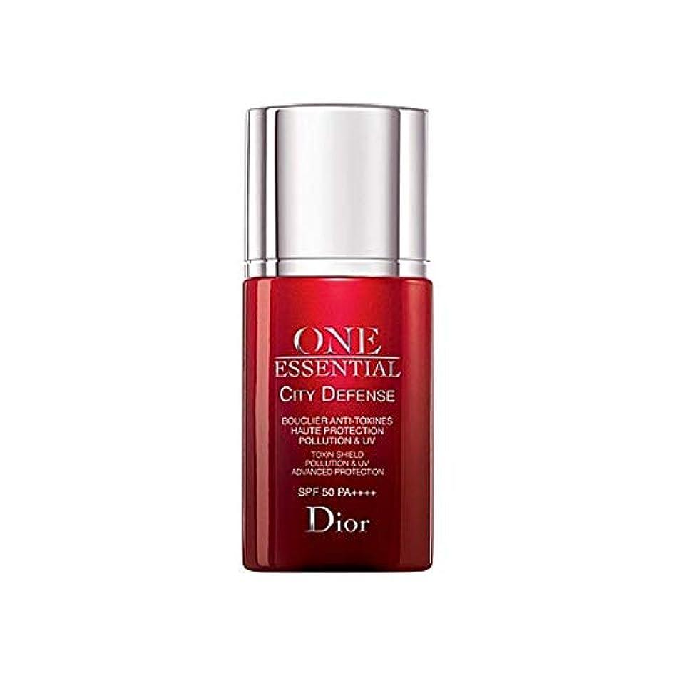 順応性貸し手回転[Dior] ディオール1つの基本的な都市の防衛30ミリリットル - Dior One Essential City Defence 30ml [並行輸入品]