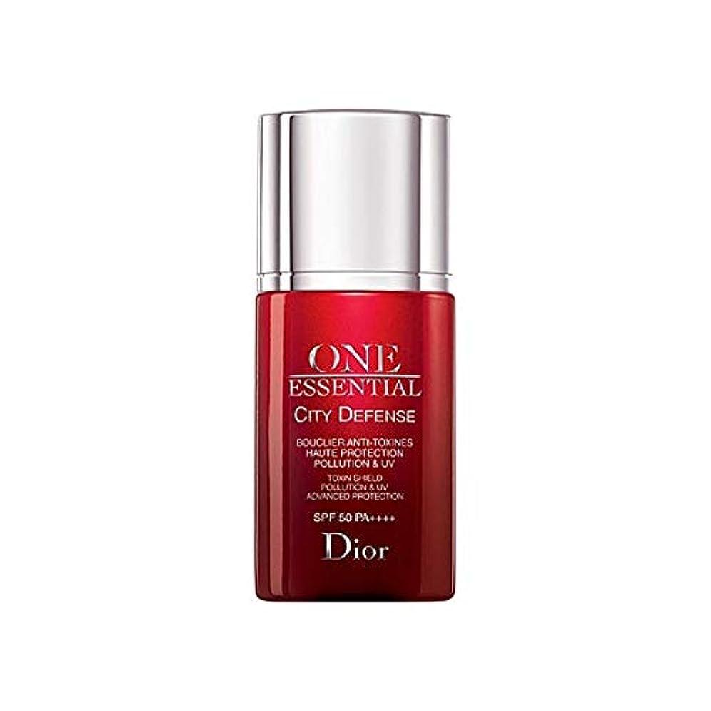 部屋を掃除する入り口適用する[Dior] ディオール1つの基本的な都市の防衛30ミリリットル - Dior One Essential City Defence 30ml [並行輸入品]