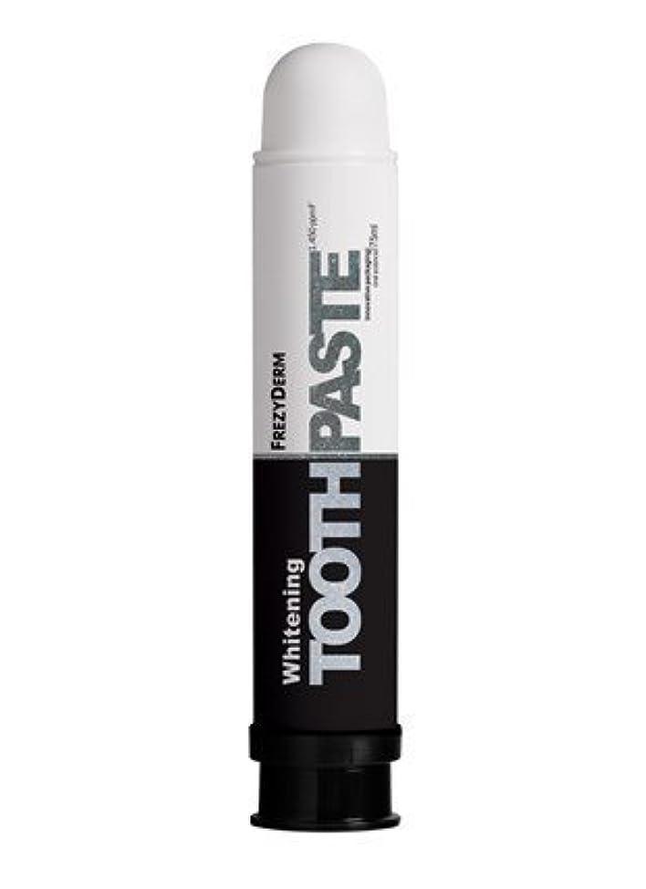 努力邪魔する同性愛者Frezyderm Whitening Toothpaste 75ml by FrezyDerm