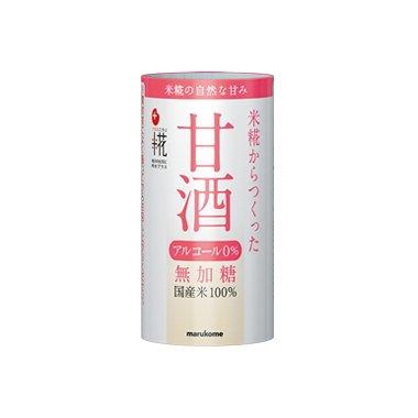 プラス糀 米糀からつくった甘酒 125ml ×18本