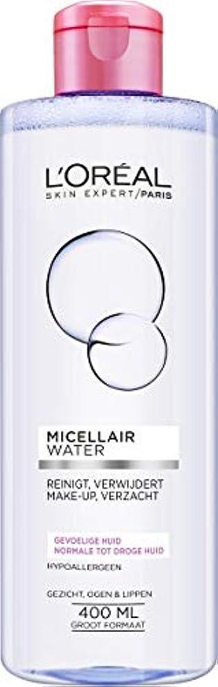レディ警告バドミントンロレアル Micellar Water - Normal to Dry Skin & Even Sensitive Skin 400ml/13.3oz並行輸入品