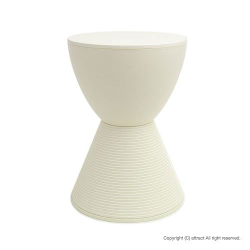 Kartell カルテル Prince AHA プリンス アハ スツール (椅子・軽家具) PRI-8810 ホワイト/1N