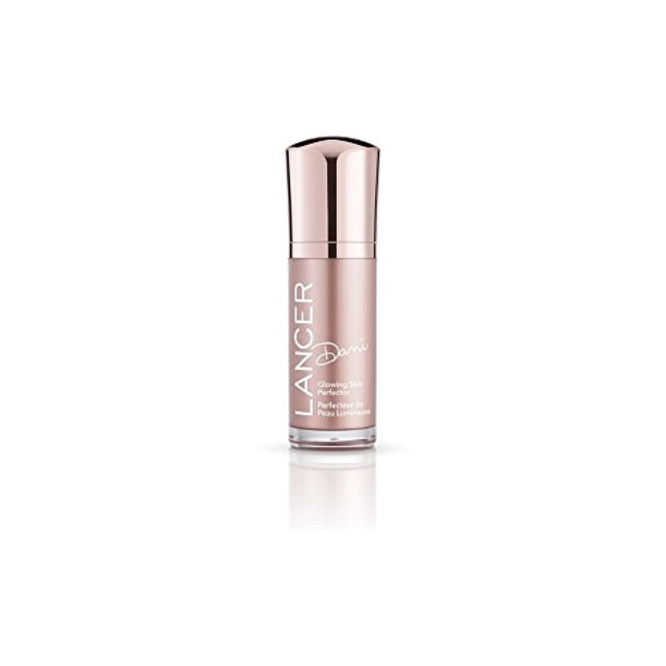 居心地の良いバリケード指紋スキンパーフェク輝くランサースキンケアダニ(30ミリリットル) x4 - Lancer Skincare Dani Glowing Skin Perfector (30ml) (Pack of 4) [並行輸入品]