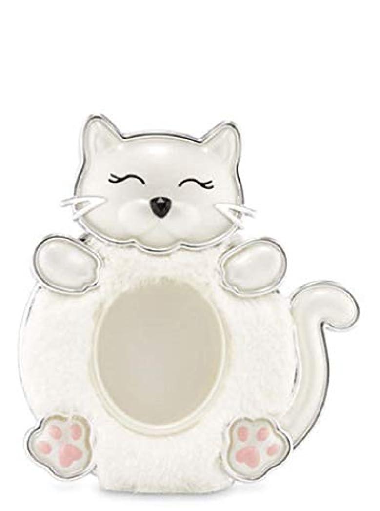 元に戻すプレビュー進化【Bath&Body Works/バス&ボディワークス】 クリップ式芳香剤 セントポータブル ホルダー (本体ケースのみ) 白猫 Scentportable Holder Fuzzy Kitty [並行輸入品]