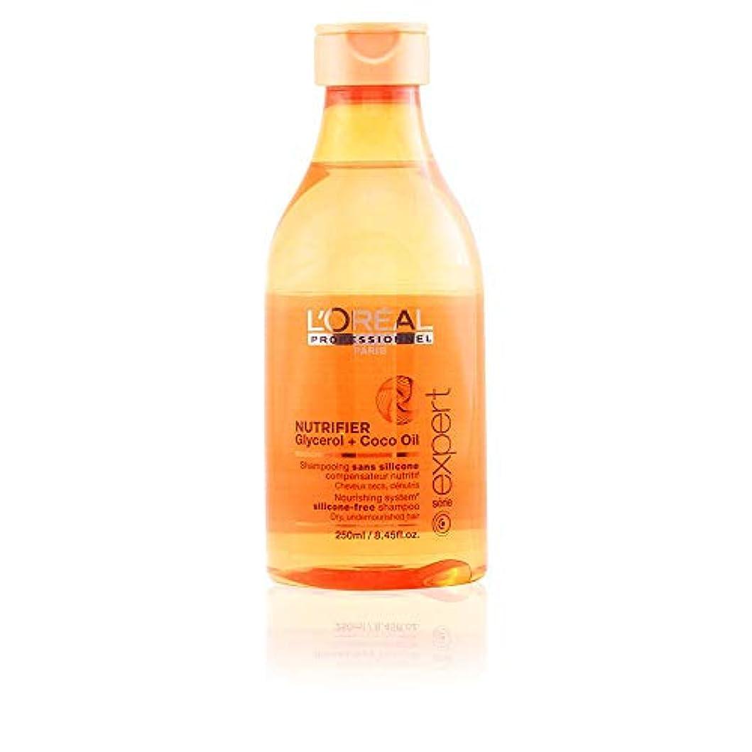 モードリン方法論植物のL'Oreal Serie Expert Glycerol + Coco Oil NUTRIFIER Nourishing System Silicone-Free Shampoo 300 ml [並行輸入品]
