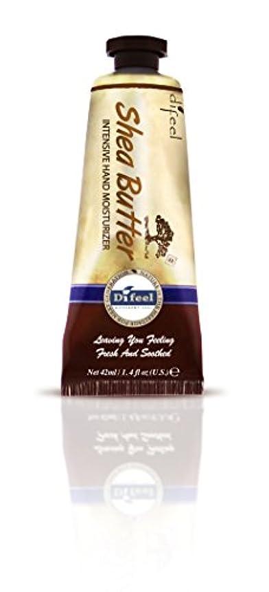 揺れるリーチ服を着るDifeel(ディフィール) シアーバター ナチュラル ハンドクリーム 40g SHEA BUTTER 16SHEn New York