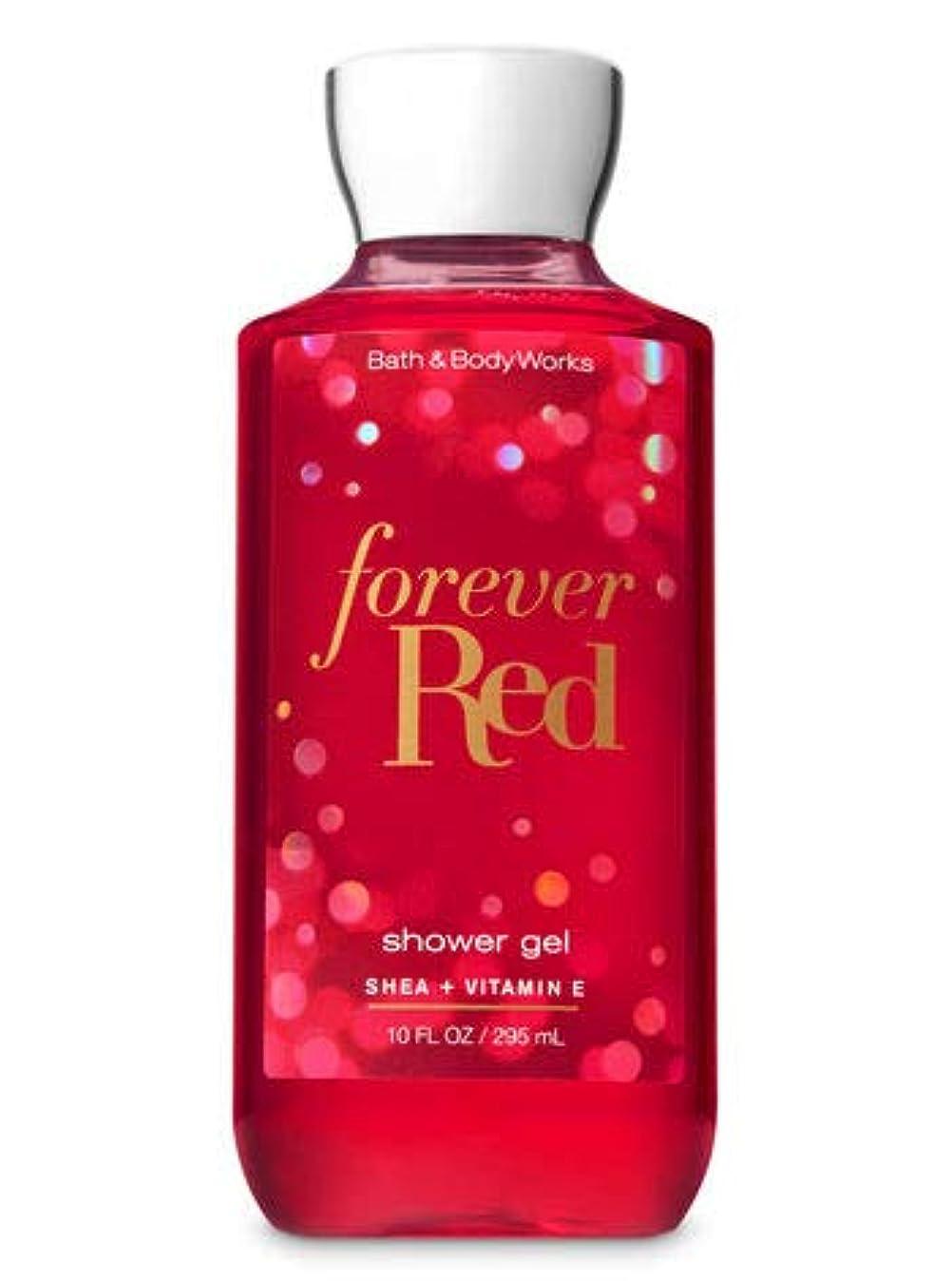 参照するアクセシブルある【Bath&Body Works/バス&ボディワークス】 シャワージェル フォーエバーレッド Shower Gel Forever Red 10 fl oz / 295 mL [並行輸入品]