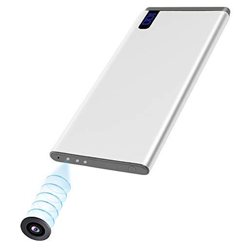 超小型 隠しカメラ 1080P 高画質 モバイルバッテリー型 ミニカメラ スパイカメラ バッテリー表示 盗撮 防犯監視ビデオカメラ 暗視録画機 長時間録画 携帯便利 日本語取扱説明書