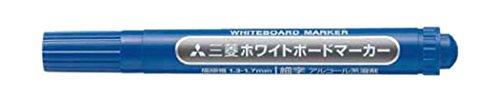 uni 三菱鉛筆/ホワイトボードマーカー/細字/青 PWB2M.33