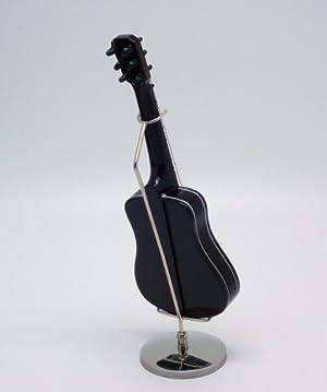 ミニチュア フォーク ギター フィギュア 15cm ケース付き