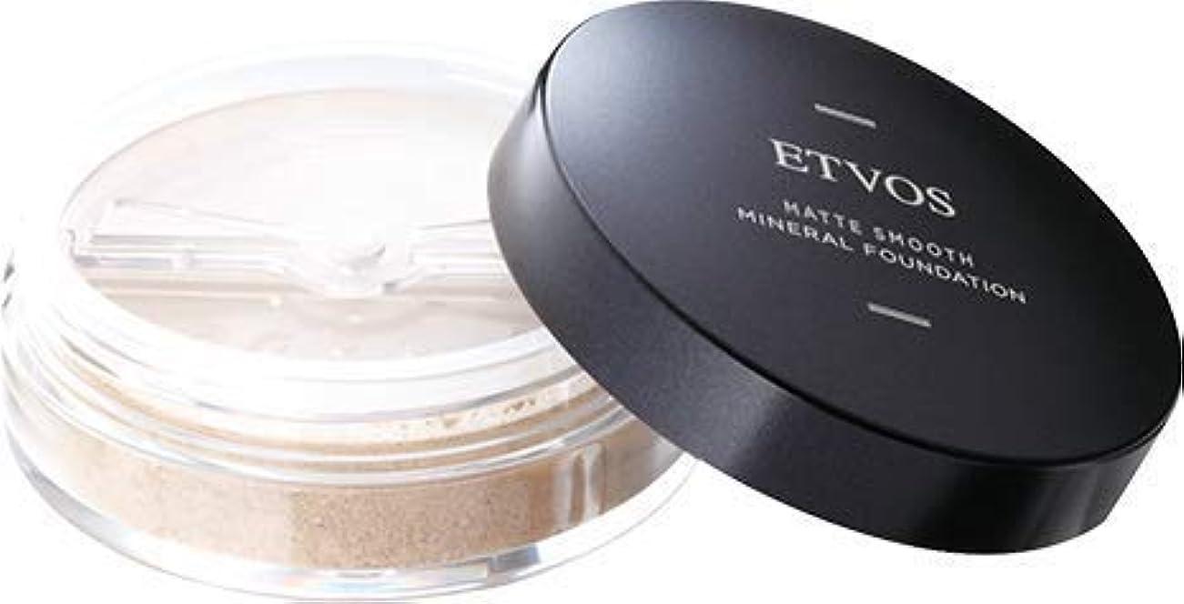 消毒剤びっくりする等価ETVOS(エトヴォス) マットスムースミネラルファンデーション SPF30 PA++ 4g #30