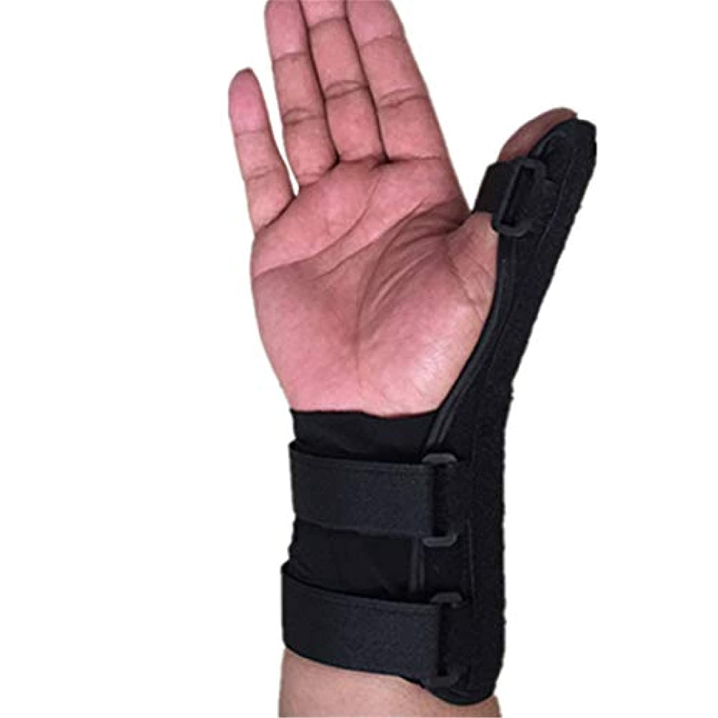 フレットネブ科学者指サポーター ばね指サポーター バネ指 腱鞘炎 指保護 固定 調整自在 左右兼用 フリーサイズ