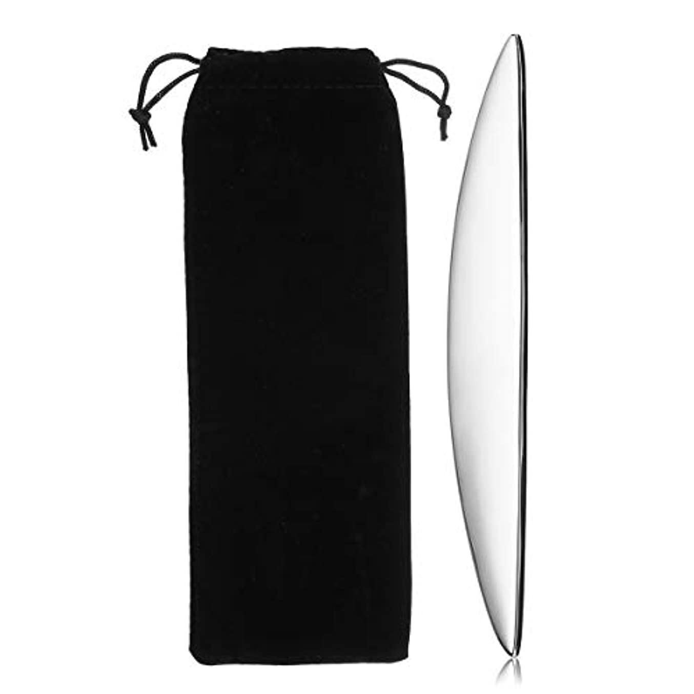 程度論争の的鑑定KISENG 304ステンレス鋼 グアシャマッサージ グアシャこすり スパ 手動マッサージボード ボディ健康ツール