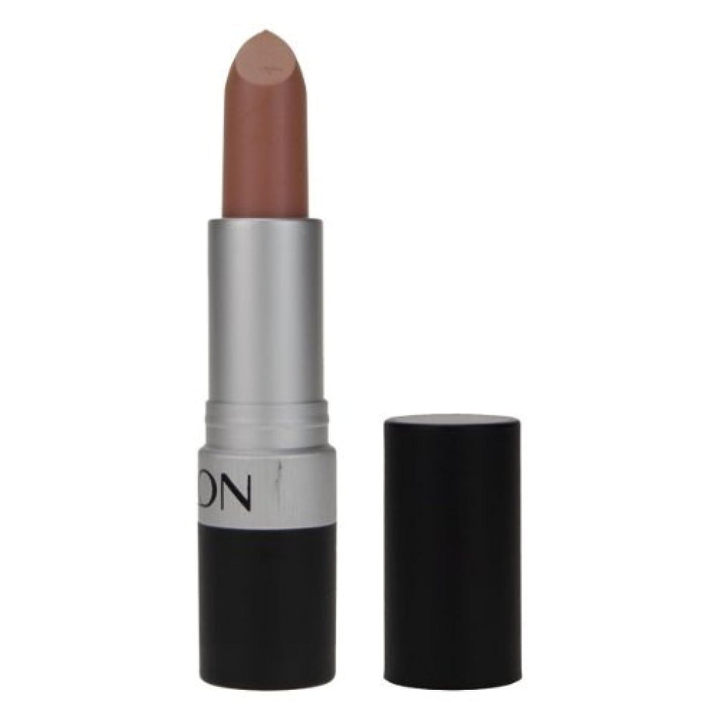 褐色ゴシップ実験的REVLON Super Lustrous Lipstick Matte - Nude Attitude 001 (並行輸入品)