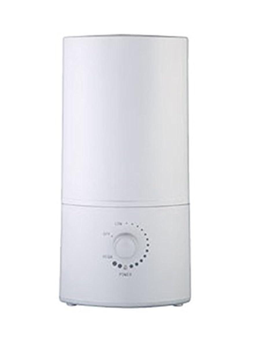 発音するカエル大邸宅超音波加湿器 SLender スレンダーシルバー
