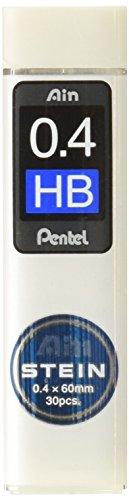 ぺんてる シャープペンシル替芯 Ain 替芯 シュタイン 0.4mm HB C274-HB