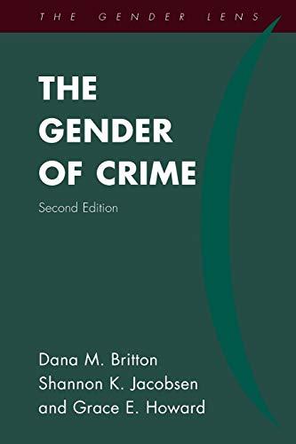 Download The Gender of Crime (Gender Lens) 1442262222