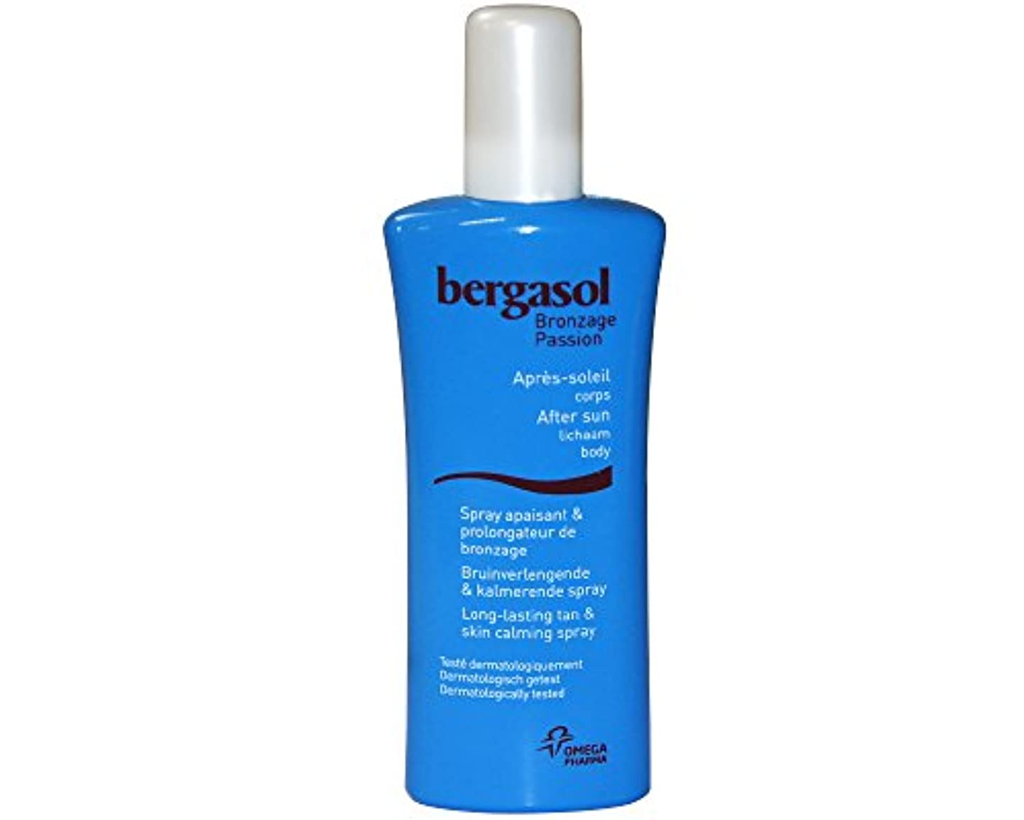 猛烈な欠陥クリークBergasol After Sun Bräunungsverlängernde Pflegelotion Spray, Bräunung und Beruhigung Spray, 125ml