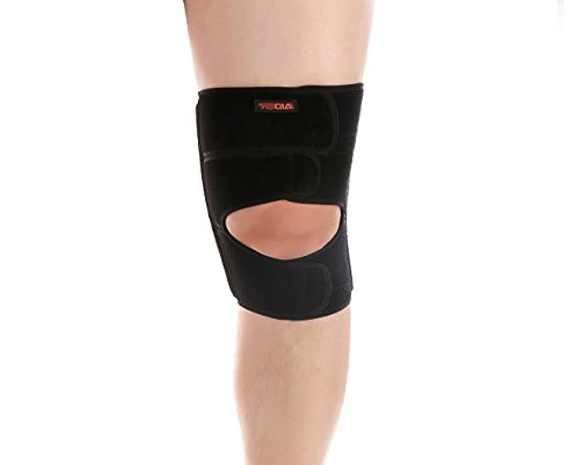 北米接続された練るAIDER エイダー膝サポーター Knee Support TYPE2 フリーサイズ 左足 [並行輸入品]