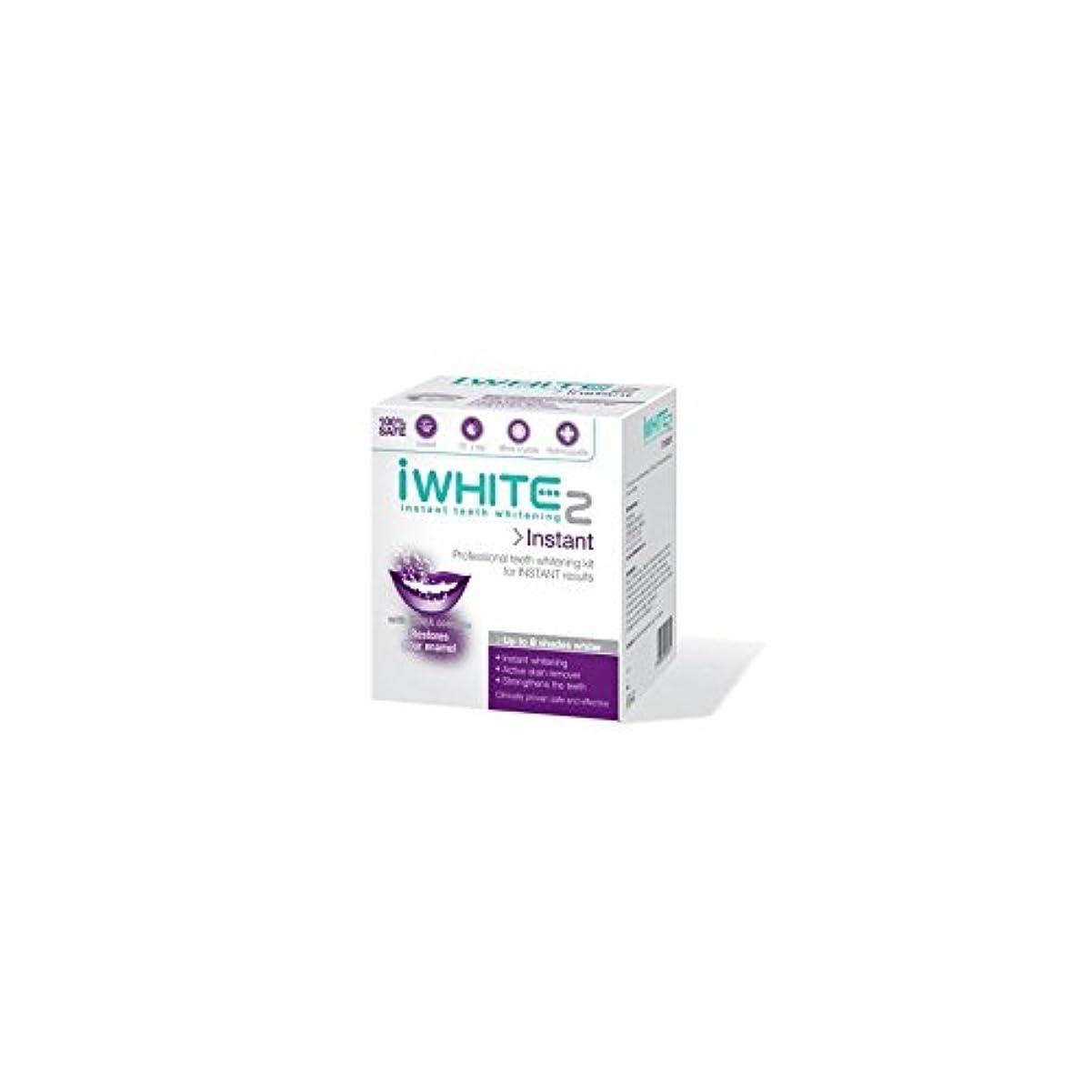 摂動彼女は左インスタントキットを白く2本のプロ歯(10トレイ) x4 - iWhite Instant 2 Professional Teeth Whitening Kit (10 Trays) (Pack of 4) [並行輸入品]