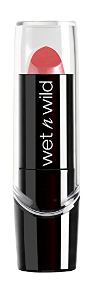 閲覧する凝視フェリーWET N WILD New Silk Finish Lipstick Sunset Peach (並行輸入品)