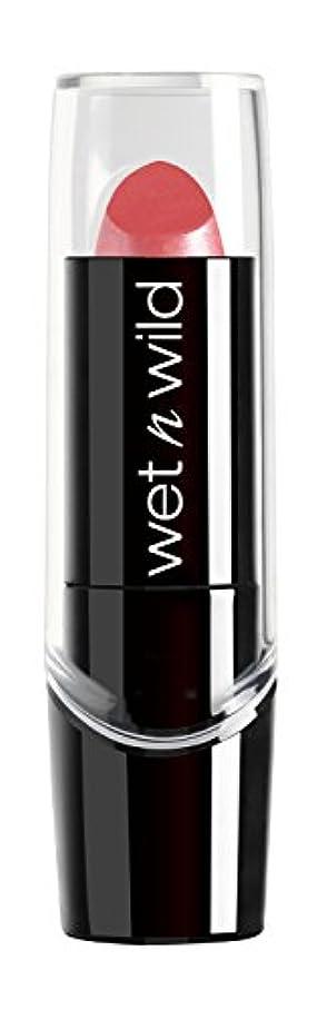 に負けるペダル赤面WET N WILD New Silk Finish Lipstick Sunset Peach (並行輸入品)