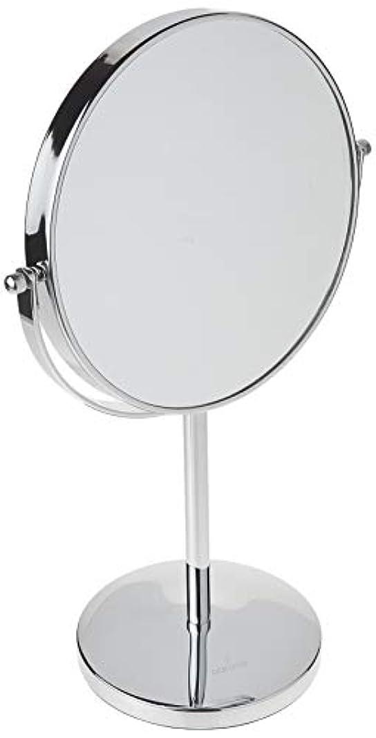 熟達更新一元化するOak Leaf 拡大化粧鏡両面 1x / 10倍 倍率卓上スイベルバニティミラー8インチ 10倍(8インチ)