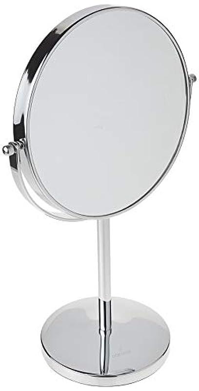 平手打ち葉を拾う身元Oak Leaf 拡大化粧鏡両面 1x / 10倍 倍率卓上スイベルバニティミラー8インチ 10倍(8インチ)