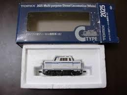 Nゲージ車両 Cタイプ小型ディーゼル機関車 (白) 2025