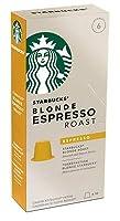 ネスプレッソ 8種類から選択 スターバックス コーヒー 互換 カプセル スタバ 10個入り (ブロンド) [並行輸入品]