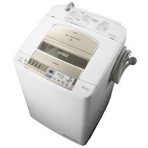 日立 9.0kg 全自動洗濯機(シャンパン)HITACHI ビートウォッシュ BW-9MV-N
