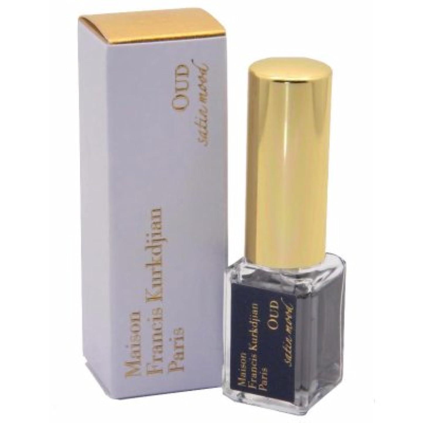 コメント専門用語すべきメゾン フランシス クルジャン ウード サテン ムード オードパルファン トラベルサイズ 5ml(Maison Francis Kurkdjian Oud Satin Mood EDP Spray Mini 5ml) [...