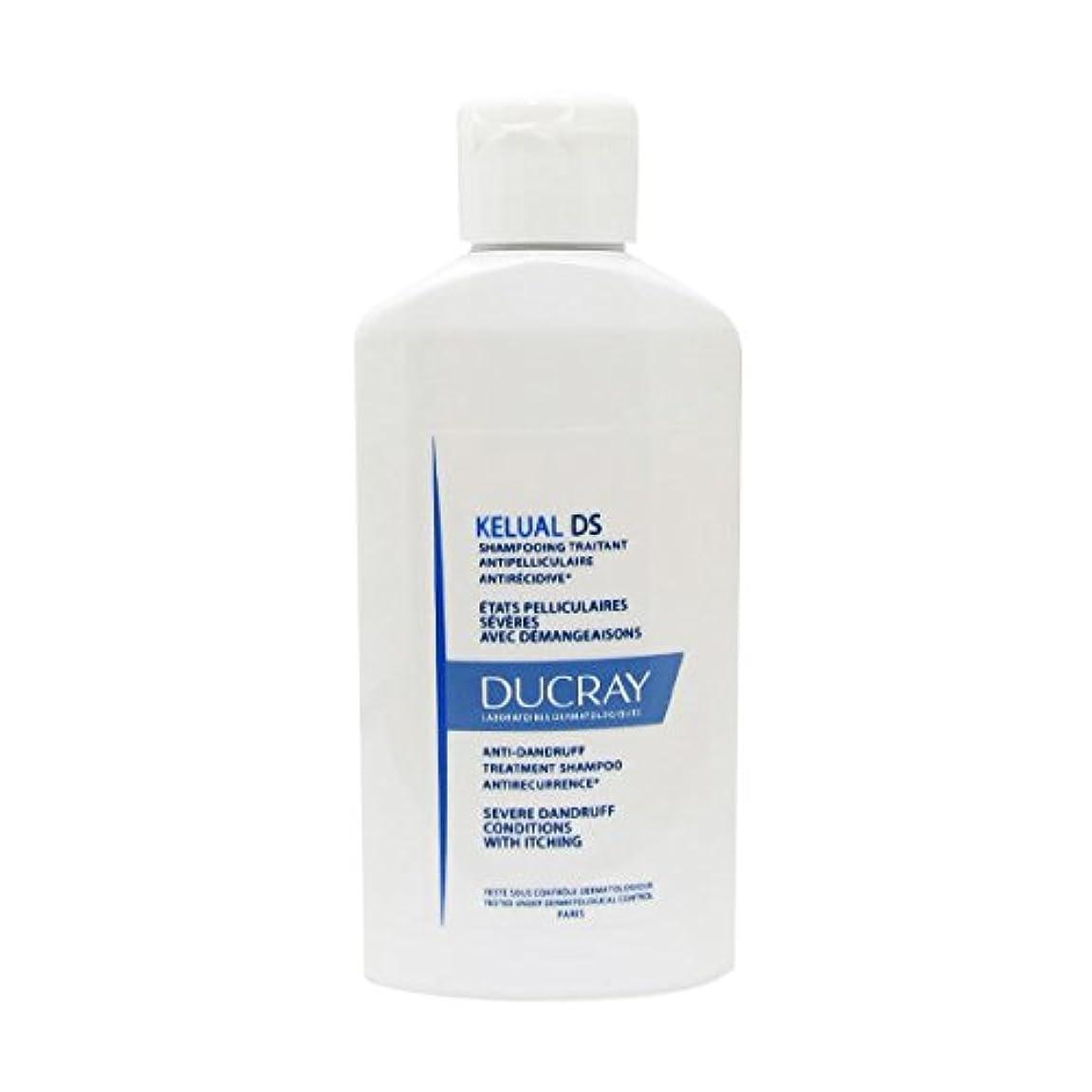 今日スラム質量Ducray Kelual Ds Squamo-reducing Shampoo 100ml [並行輸入品]