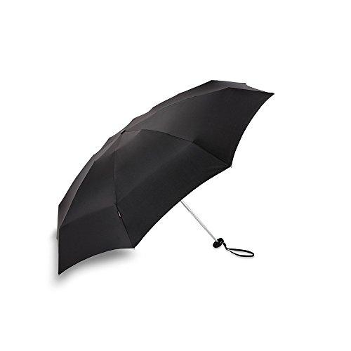 (クニルプス) Knirps X1 ハードケース付き コンパクト 折りたたみ傘 メンズ レディース 07.Black【811-100】
