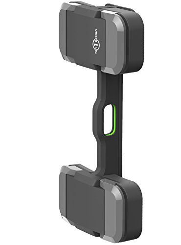 Mountie + by Ten One Design – マウントLargeタブレット、およびポータブルモニターfor an Instant 2または3番目表示、ラップトップコンピュータ(t1-mult-200 ) – グレー
