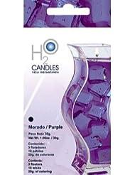 H2Oキャンドル (ウォーターキャンドル) PURPLE
