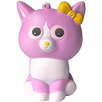 Dirance かわいいキティ スクイーズ スクイーズ おもちゃ かわいいモチの香り プライム 安い 低反発 ストレス解消 おもちゃ F パープル DR