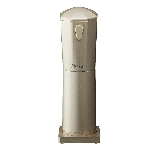ドウシシャ 大人の氷かき器 コードレス シャンパンゴールド 電池式(単三×4本使用 別売) CDIS-18CGD