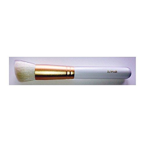 熊野筆 Ai brush ML-SH-2L/リキッドファンデーションブラシ/白軸