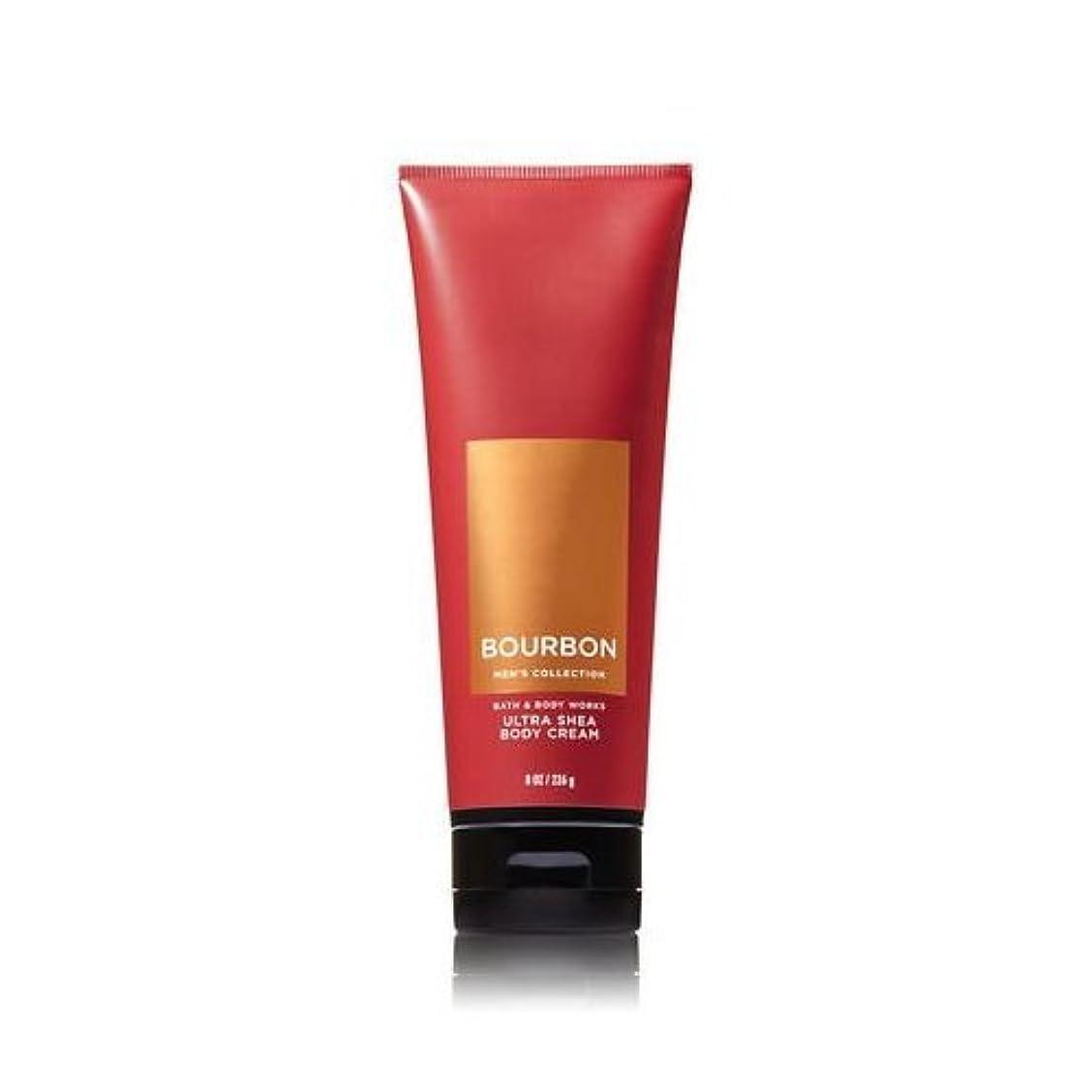 販売計画財政職人【並行輸入品】Bath and Body Works Bourbon for Men Ultra Shea Body Cream 226 g