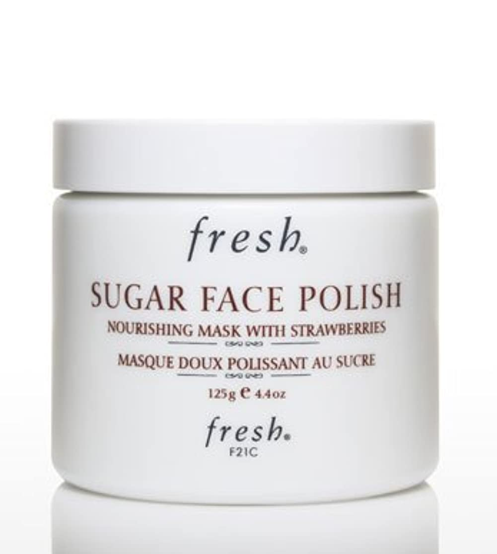 エスカレートマークされた無駄だFresh SUGAR FACE POLISH (フレッシュ シュガーフェイスポリッシュ) 4.2 oz (125g) by Fresh for Women