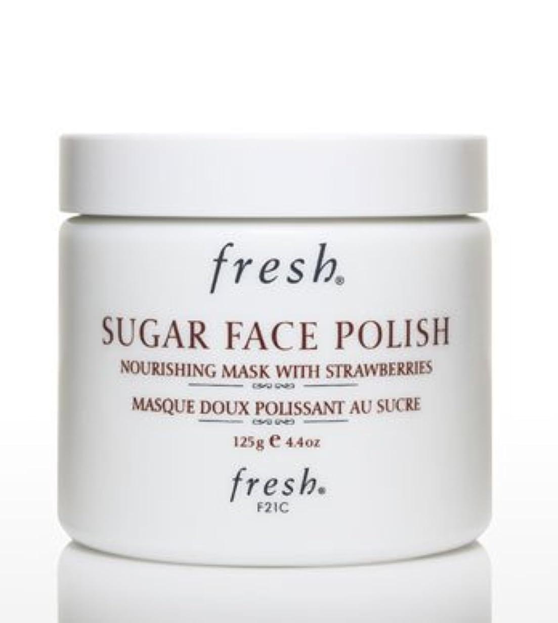 継続中それから直接Fresh SUGAR FACE POLISH (フレッシュ シュガーフェイスポリッシュ) 4.2 oz (125g) by Fresh for Women