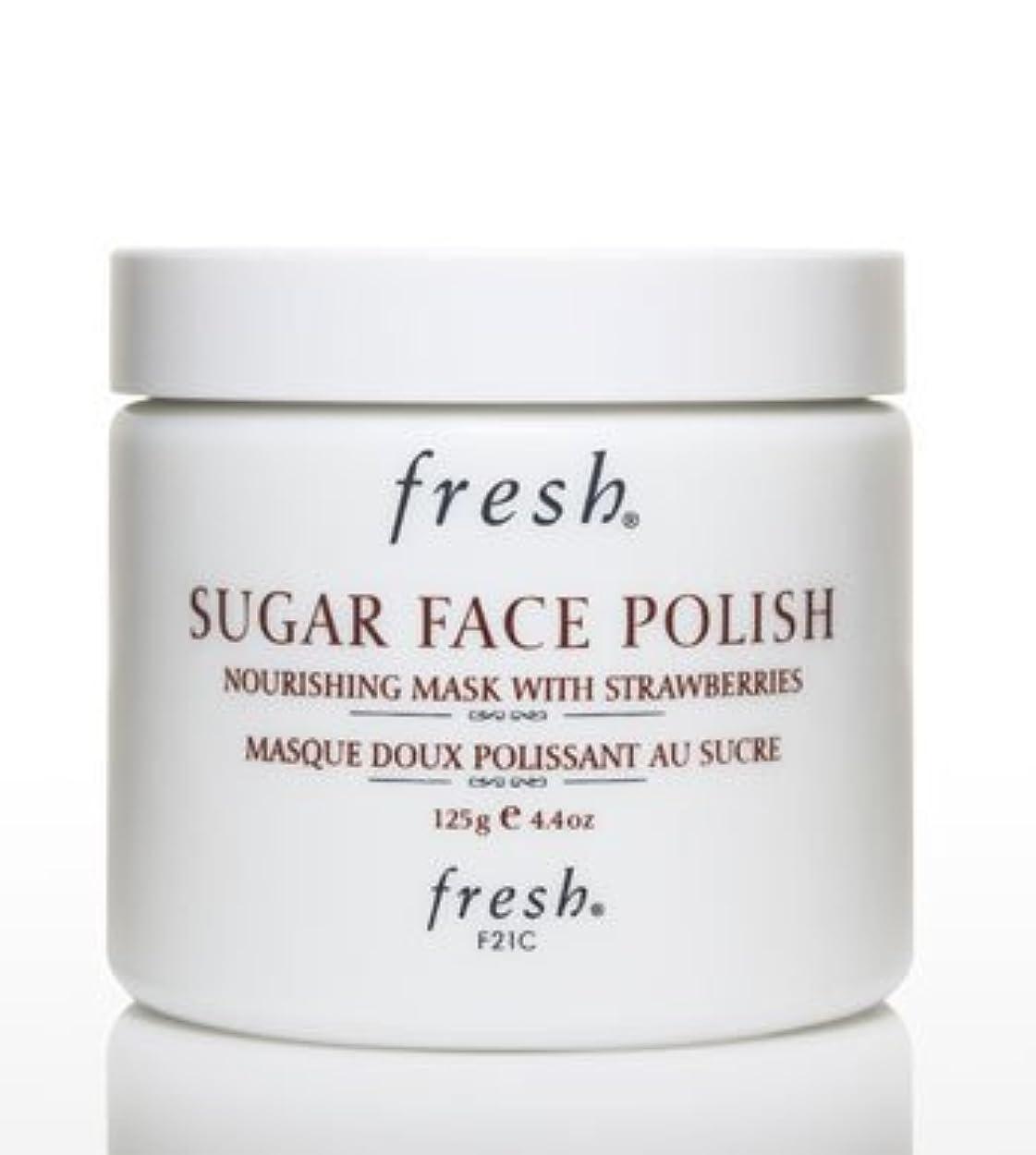 Fresh SUGAR FACE POLISH (フレッシュ シュガーフェイスポリッシュ) 4.2 oz (125g) by Fresh for Women