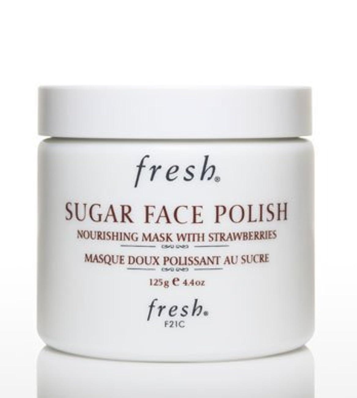 ローブ計器応じるFresh SUGAR FACE POLISH (フレッシュ シュガーフェイスポリッシュ) 4.2 oz (125g) by Fresh for Women