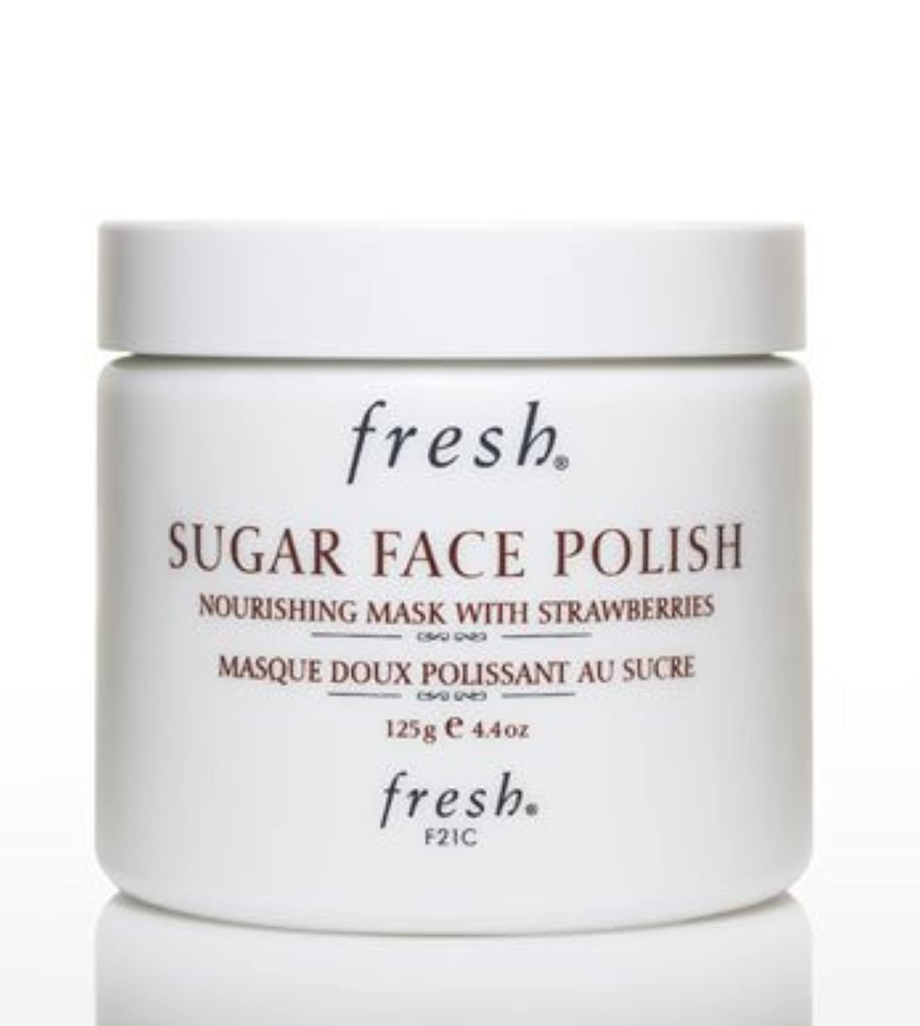 アシスタントベテラン金曜日Fresh SUGAR FACE POLISH (フレッシュ シュガーフェイスポリッシュ) 4.2 oz (125g) by Fresh for Women