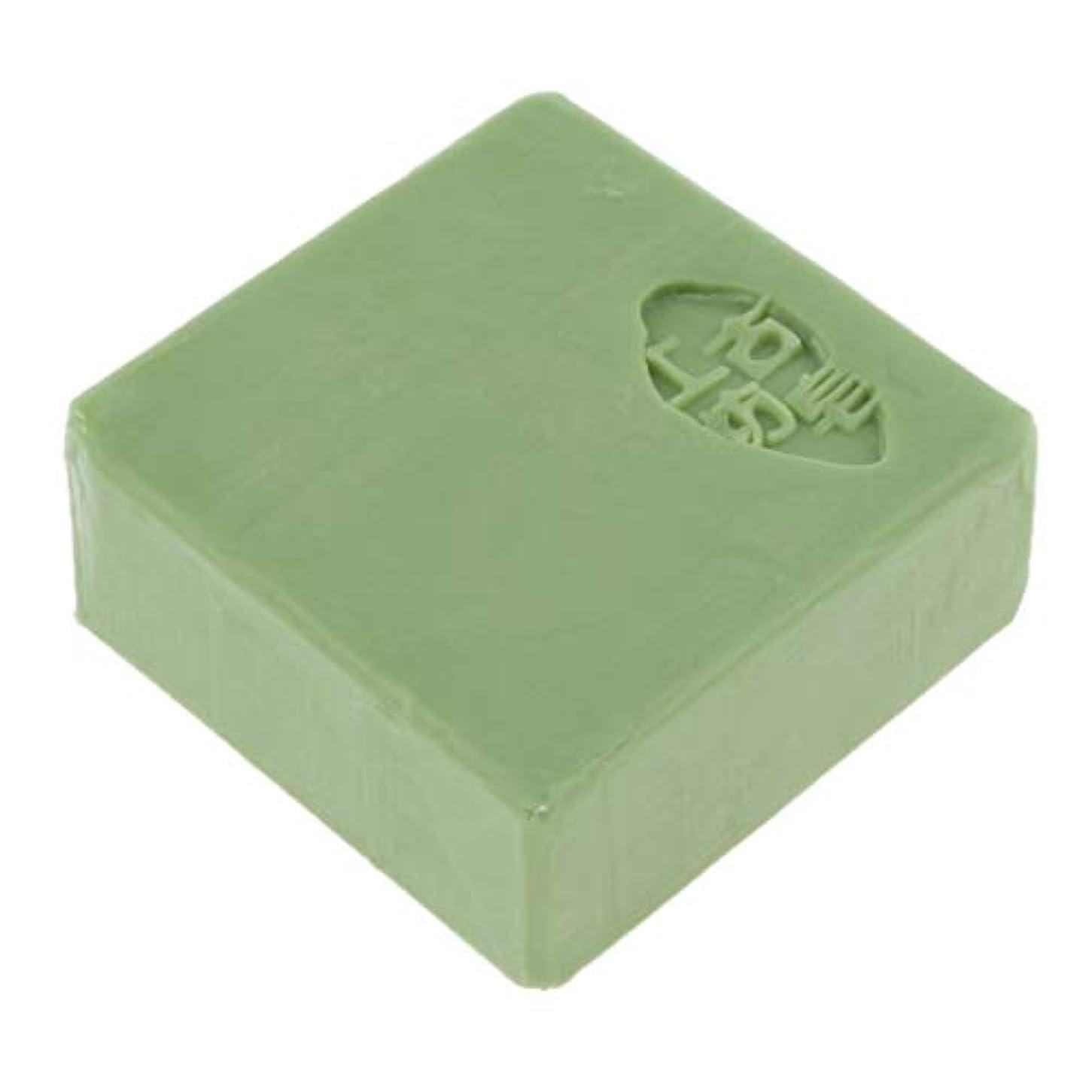薬理学お茶玉ボディ フェイスソープ バス スキンケア 保湿 肌守り 全3色 - 緑