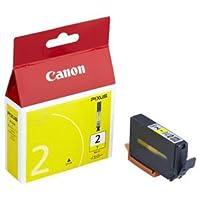 (まとめ) キヤノン Canon インクタンク PGI-2Y イエロー 1027B001 1個 【×4セット】