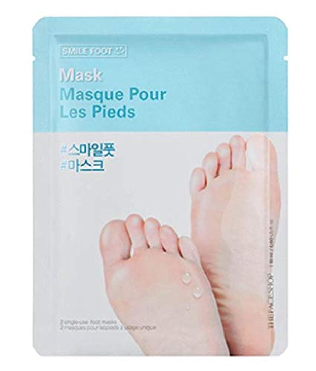 海岸勧告ユーモラスTHE FACE SHOP Smile Foot Mask 3p ザフェイスショップ スマイル フットマスク 3枚 [並行輸入品]