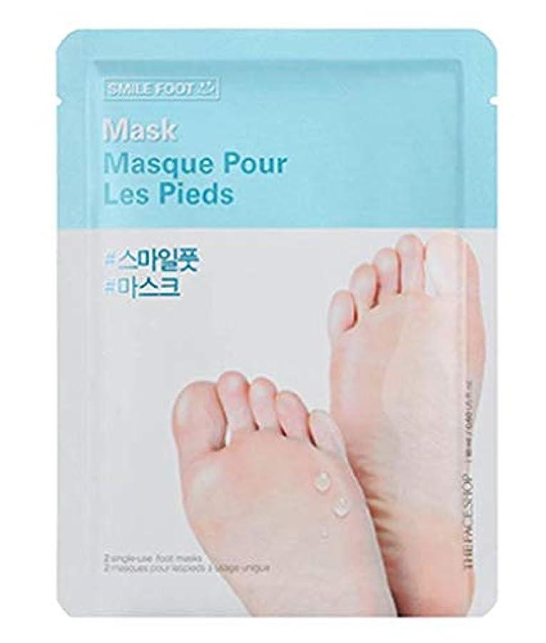 アルネ弾性幻影THE FACE SHOP Smile Foot Mask 3p ザフェイスショップ スマイル フットマスク 3枚 [並行輸入品]